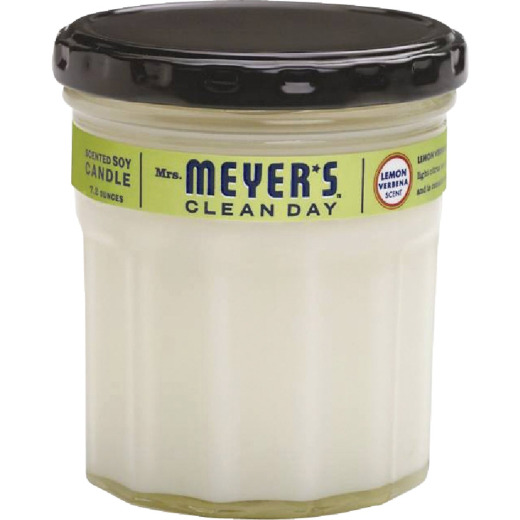 Mrs Meyer's Clean Day 7.2 Oz. Lemon Verbena Jar Candle