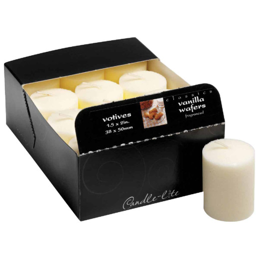 Candle-lite Essentials Classic Black Cherry Votive Candle