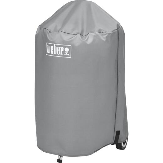 Weber 18 In. Gray Vinyl Kettle Grill Cover